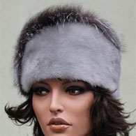 Fox Fur Hat with Silver High